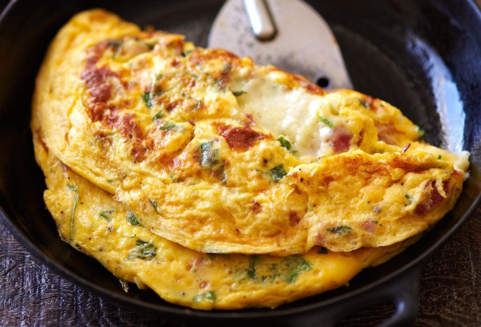 Karisik omlet jpg