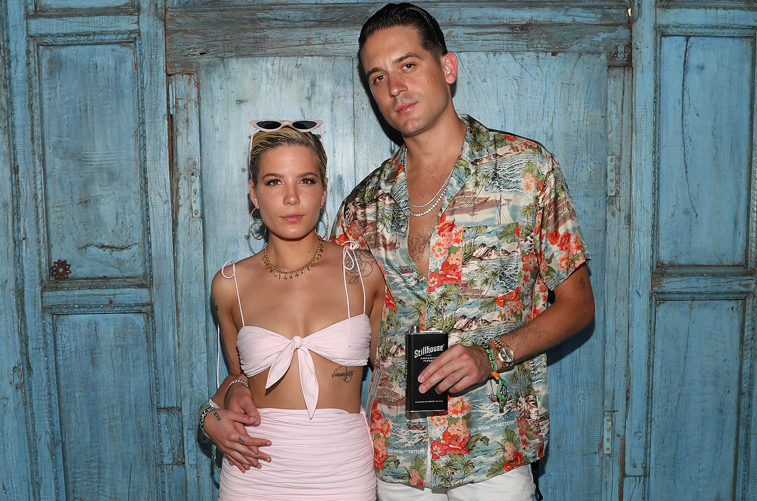 Halsey and g eazy coachella party weekend 1 2018 billboard 1548 jpg