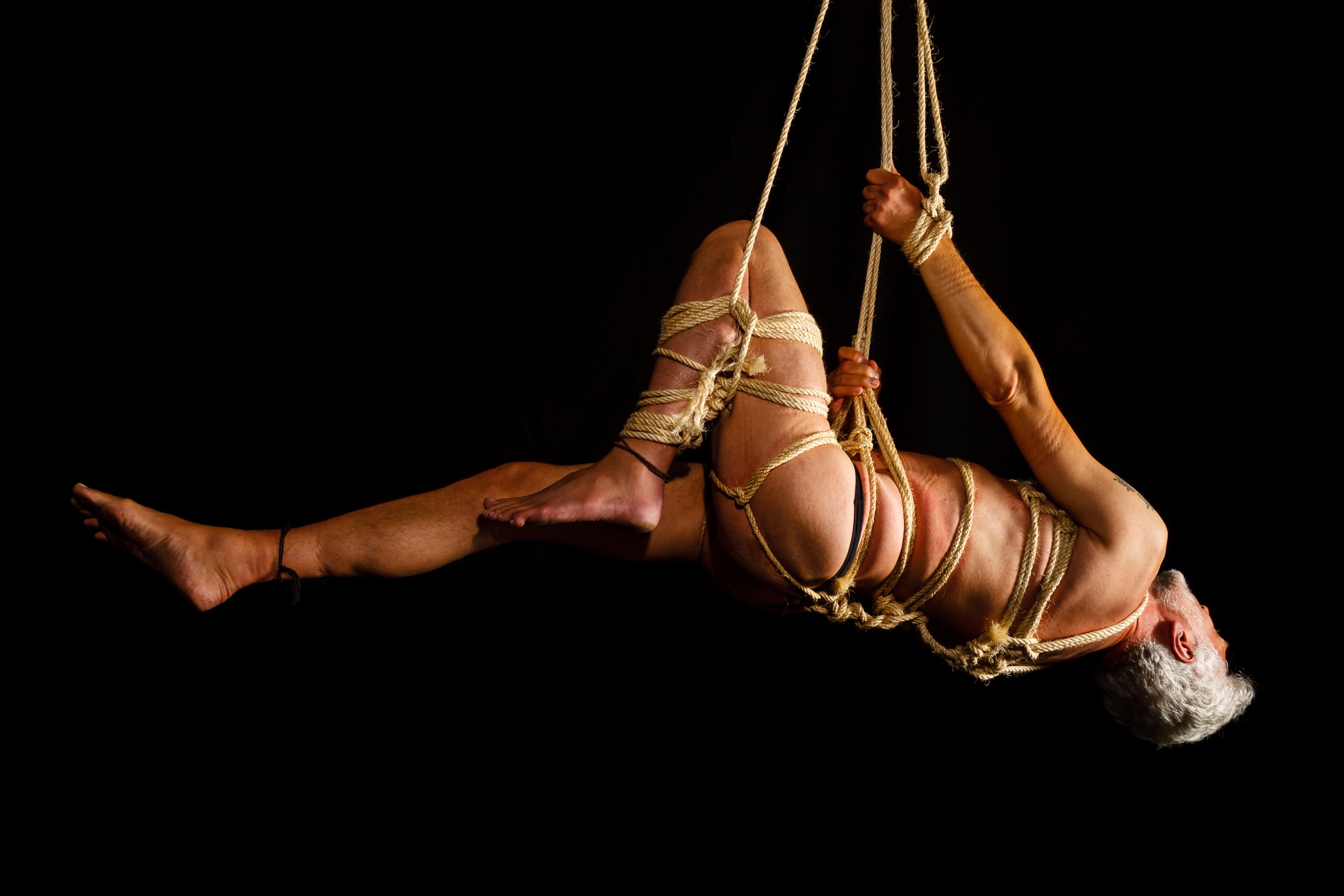 Fetish man bondage bdsm shibari hanging bondage 1598509 pxhere com jpg